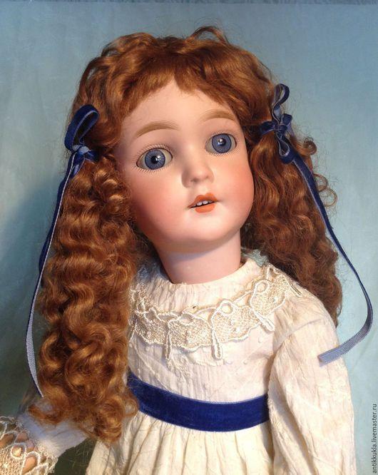 Винтажные куклы и игрушки. Ярмарка Мастеров - ручная работа. Купить Старинная Королева Луиза редкой отливки от АМ. Handmade. Кремовый