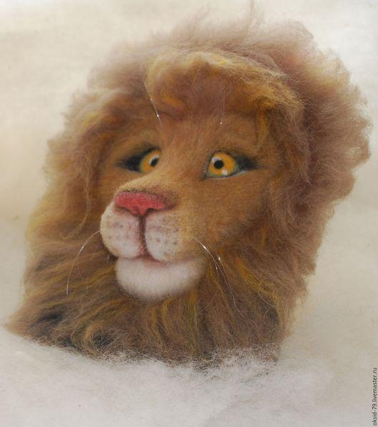Панно лев 3D