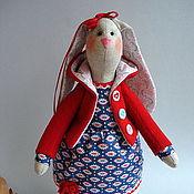 Куклы и игрушки ручной работы. Ярмарка Мастеров - ручная работа Тильда зайка. Handmade.