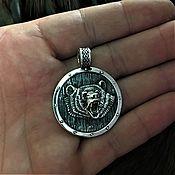 Русский стиль handmade. Livemaster - original item The Shield Is The Symbol Of Veles. Handmade.