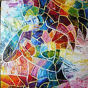 """Картины и панно ручной работы. Ярмарка Мастеров - ручная работа """"Мозаика души или ничего лишнего"""".. Handmade."""