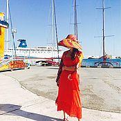"""Одежда ручной работы. Ярмарка Мастеров - ручная работа Платье """"Rosso Poesia"""". Handmade."""