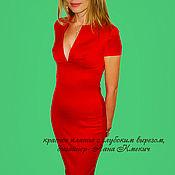 Одежда handmade. Livemaster - original item little red dress