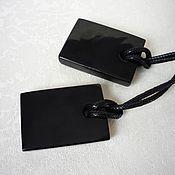 Украшения handmade. Livemaster - original item The pendants of jet. Handmade.