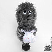 Куклы и игрушки ручной работы. Ярмарка Мастеров - ручная работа Ёжик в тумане, вязаный. Handmade.