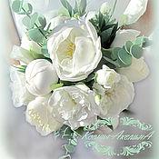 Свадебные букеты ручной работы. Ярмарка Мастеров - ручная работа Букет невесты, свадебный буке. Handmade.