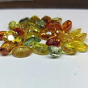 Материалы для творчества ручной работы. Ярмарка Мастеров - ручная работа 536 Сапфиры разноцветные 3.4х4.0х1.8 мм. Handmade.