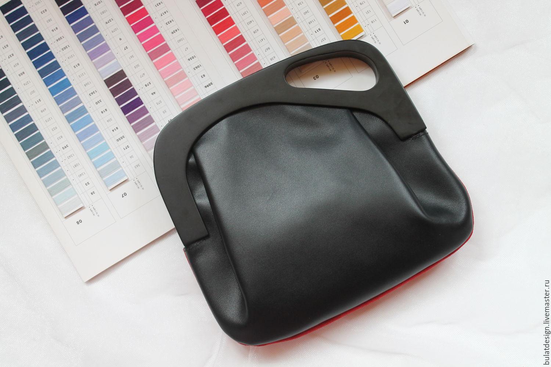 3d9fe58abd41 Красная сумка из замши