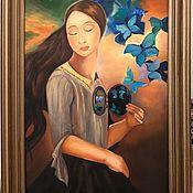 Картины и панно handmade. Livemaster - original item Oil painting Revelation. Handmade.