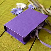 Сувениры и подарки ручной работы. Ярмарка Мастеров - ручная работа Коробочка для упаковки. Handmade.