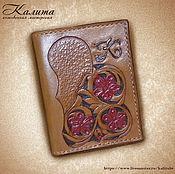 Сумки и аксессуары handmade. Livemaster - original item Cover for avtodokumentov nominal. Handmade.