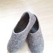 Обувь ручной работы. Ярмарка Мастеров - ручная работа Валяные тапочки, 38 размер. Handmade.