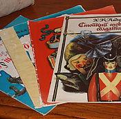 Винтаж handmade. Livemaster - original item Children`s books. Of the Soviet Union.. Handmade.