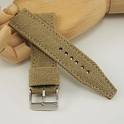 Украшения handmade. Livemaster - original item Cotton watch straps. Handmade.