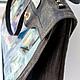 """Женские сумки ручной работы. Кожаная сумка """"Сумеречная Венеция"""". Сергеева Ирина. Ярмарка Мастеров. Тиснение по коже, натуральная кожа"""