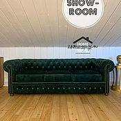 Для дома и интерьера handmade. Livemaster - original item Sofa 3-seater CHESTERFIELD.. Handmade.