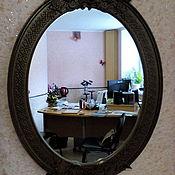 Зеркала ручной работы. Ярмарка Мастеров - ручная работа Зеркало с птичками.. Handmade.