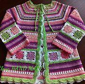 Одежда ручной работы. Ярмарка Мастеров - ручная работа Детский кардиган. Handmade.