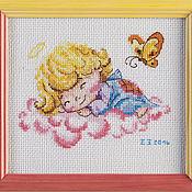 """Картины и панно ручной работы. Ярмарка Мастеров - ручная работа """"Милый ангелочек"""". Handmade."""