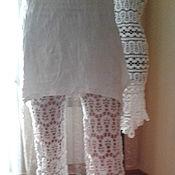 Одежда ручной работы. Ярмарка Мастеров - ручная работа Ажурные летние брюки. Handmade.