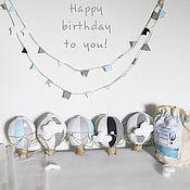 Для дома и интерьера ручной работы. Ярмарка Мастеров - ручная работа Набор воздушных шариков в детскую. Handmade.