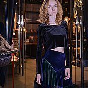 Одежда handmade. Livemaster - original item Patchwork gipsy skirt. Handmade.