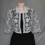 Одежда handmade. Livemaster - original item JACKET LACE