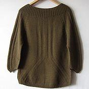 Одежда ручной работы. Ярмарка Мастеров - ручная работа Вязаный пуловер. Handmade.