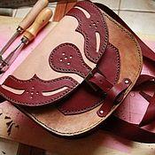 Классическая сумка ручной работы. Ярмарка Мастеров - ручная работа Сумочка дамская. Handmade.