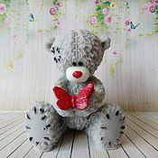 Косметика ручной работы handmade. Livemaster - original item Soap Bear with butterfly. Handmade.