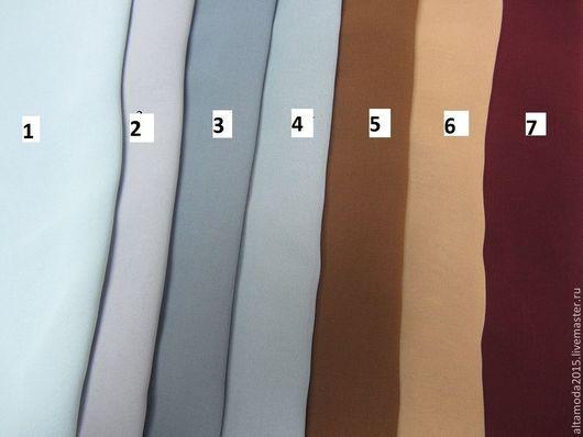 Шитье ручной работы. Ярмарка Мастеров - ручная работа. Купить Шифон 22 цвета ткани италии. Handmade. Разноцветный, ткань