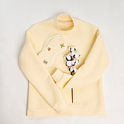Одежда handmade. Livemaster - original item Women`s sweatshirt made of footer. Handmade.