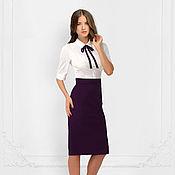 """Одежда ручной работы. Ярмарка Мастеров - ручная работа Платье двухцветное  """"Business Lady"""". Handmade."""