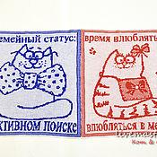Для домашних животных, ручной работы. Ярмарка Мастеров - ручная работа Коврик-плед для кошки. Handmade.