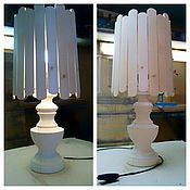 Материалы для творчества handmade. Livemaster - original item Table lamp, harvesting 046. Handmade.