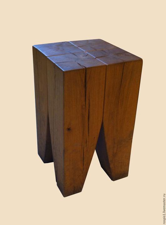 Мебель ручной работы. Ярмарка Мастеров - ручная работа. Купить Стул Пикассо. Handmade. Коричневый, стул из брусьев, стулья на заказ