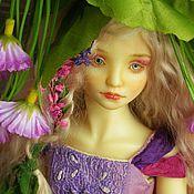 """Куклы и игрушки ручной работы. Ярмарка Мастеров - ручная работа Шарнирная кукла """"Дюймовочка"""". Handmade."""