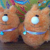 Куклы и игрушки ручной работы. Ярмарка Мастеров - ручная работа Вязаный котик :). Handmade.
