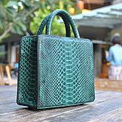 Сумки и аксессуары handmade. Livemaster - original item Stardust Python leather handbag. Handmade.