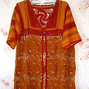Одежда handmade. Livemaster - original item cardigan. Dulcinea. Crochet.. Handmade.