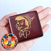 Подарки к праздникам handmade. Livemaster - original item Pinocchio`s music box