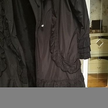 Одежда ручной работы. Ярмарка Мастеров - ручная работа Супер стильный дизайн пальто : Принцесса ночи.. Handmade.