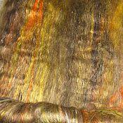 Материалы для творчества ручной работы. Ярмарка Мастеров - ручная работа Африканская горчица Вискоза   для валяния и прядения в баттах. Handmade.