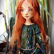 Куклы и игрушки ручной работы. Ярмарка Мастеров - ручная работа Данка. Текстильная кукла. Handmade.