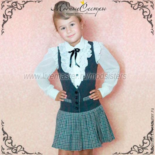Одежда для девочек, ручной работы. Ярмарка Мастеров - ручная работа. Купить Школьная форма Арт.021. Handmade. Школьная форма