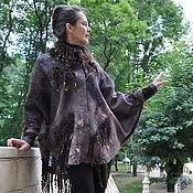 """Одежда ручной работы. Ярмарка Мастеров - ручная работа Пончо """"Леди Гамильтон"""". Handmade."""