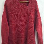 Одежда ручной работы. Ярмарка Мастеров - ручная работа Красный квадрат. Handmade.