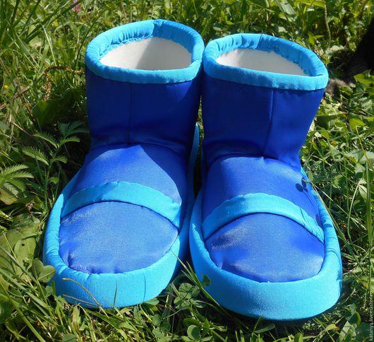 Обувь ручной работы. Ярмарка Мастеров - ручная работа. Купить Ботинки для фиксиков. Handmade. Комбинированный, костюм для детей, обувь для аниматора