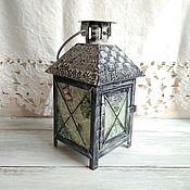 Для дома и интерьера handmade. Livemaster - original item Lantern - candle