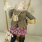 Куклы Тильда ручной работы. Ярмарка Мастеров - ручная работа Текстильная интерьерная кукла Баба Нюра. Handmade.